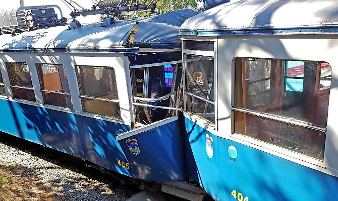 scontro tram
