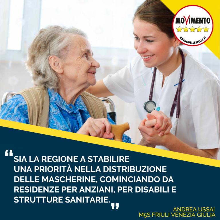 Per mascherine priorità a strutture sanitarie, per anziani ...